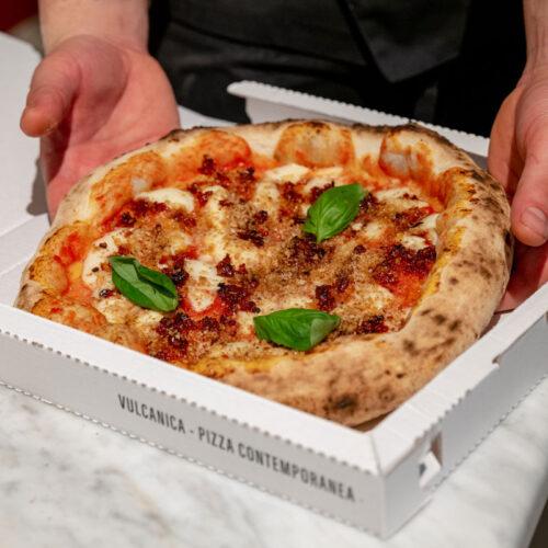 Vulcanica Pizza Contemporanea Capuliatu