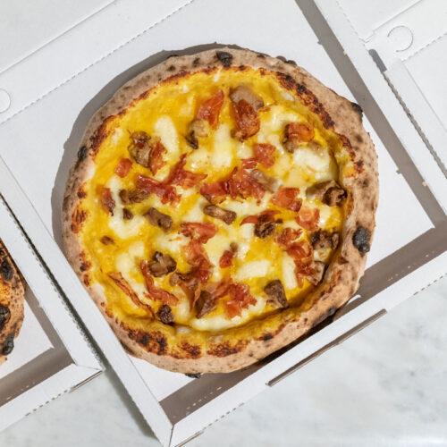 Vulcanica Pizza Contemporanea Cartoni
